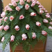 Onoranze Funebri Ripamonti & Berna | Rose rosa su bara